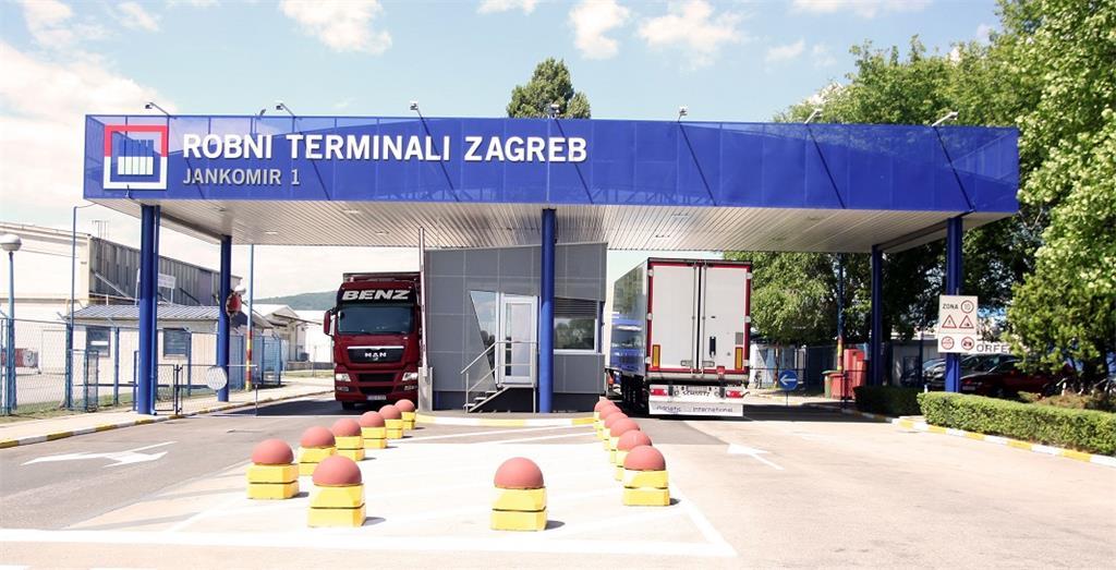 Porta 1 Robnih terminala Zagreb - PJ Jankomir